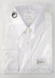 KM Koninklijke Marine overhemd Man Wit L/M KM wit - nieuw in verpakking - lange mouw - maat 40-4 - origineel