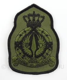 KLu Luchtmacht eenheid embleem 804 TRIAD Triple Air Defence Squadron - met klittenband - afmeting 8 x 11,5 cm - origineel