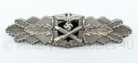 WO2 Duitse Nahkampfspange maker F&BL- zilver - replica