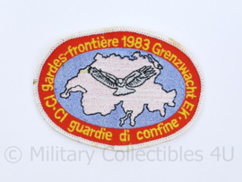 Gardes Frontiere 1983 Grenzwacht embleem - origineel