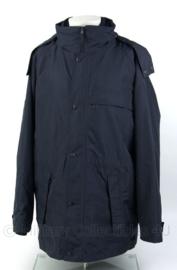 Trilaminaat regenjas met capuchon - donkerblauw - ongedragen - merk Lion - maat L - Topkwaliteit - origineel