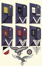 Luftwaffe manschaps rangen