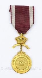 """Belgische """"Arbeid en Vooruitgang"""" gouden medaille - origineel"""
