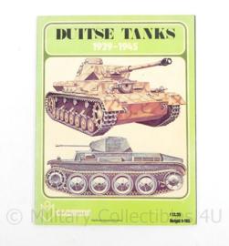 Boek Duitse Tanks 1939-1945
