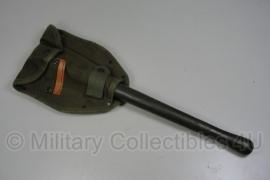 US Vietnam oorlog M56 klapschep met hoes - origineel