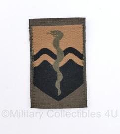 Defensie GVT mouw embleem Geneeskundig Commando  - met klittenband - 10 x 5 cm - origineel