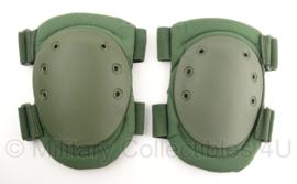 KL Nederlandse leger kniebeschermers groen - nieuw  - origineel