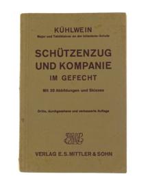 WO2 Duits handboek schutzenzug und kompanie im gefecht - 1934 - origineel
