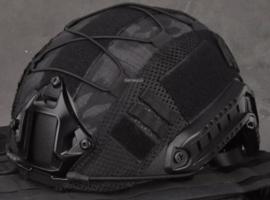 Helmovertrek voor MICH FAST helm BLACK multicam (zonder helm)