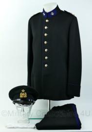 KL GLT gala uniform set met broek, pet, handschoenen - rang 1ste Luitenant - origineel