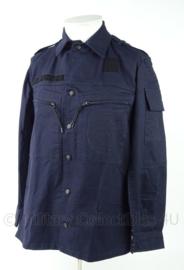 Donkerblauwe uniform jas basis (ex kmar) - zonder insignes - meerdere maten - origineel