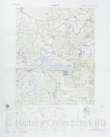 USA Defence mapping agency stafkaart Poland Lubowo M753 2525II - 1 : 50.000 - 74 x 58 cm - origineel