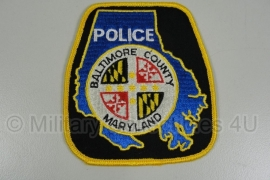 Baltimore County Maryland Police patch - origineel