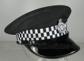 Britse politie heren platte pet - Ministry of Defence Police -  maat 55 - origineel