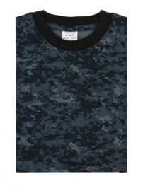 T shirt - US navy Digital navy blue camo NWU