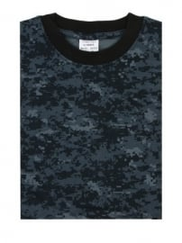 T shirt - US navy Digital navy blue camo