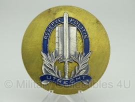 Reserve politie UTRECHT brevet insigne - origineel