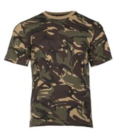 T shirt DPM camo - katoen - nieuw gemaakt