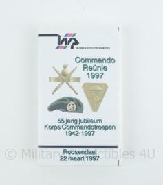 KCT Korps Commando Troepen videoband Commando reünie 1997 - 55 jarig jubileum - origineel