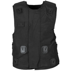 Politie Full Body kogel- en steekwerende vest hoes met portofoon lussen - (zonder inhoud) - merk Sioen - Small tm. 3xl -  origineel