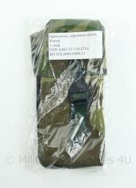 Korps Mariniers Forest Woodland camo opbouwtas algemeen klein - NIEUW in verpakking - origineel