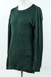Helly Hansen onderkleding shirt lange mouw groen - maat XLarge - origineel