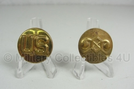 US Collar disc set US Chemical - Enlisted - original