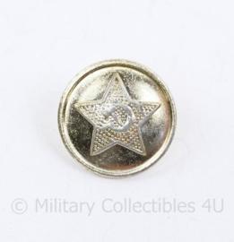 Russische leger USSR leger knoop  zilverkleurig - 22 mm - origineel