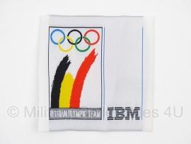 Belgian Olympic Team IBM embleem 2000 - origineel