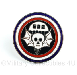 US 502 Parachute Infantry regiment speld - diameter 2,5 cm