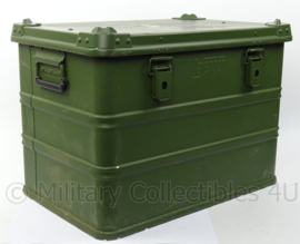 KL Landmacht Aluminium Box - merk Defender - afmeting 57 x 37 x 41 cm - origineel