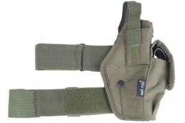 Beenholster 9mm - groen
