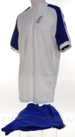 KL Nederlandse leger sport shirt korte mouw en sportbroek - maat shirt 10 en broek maat 9 - origineel
