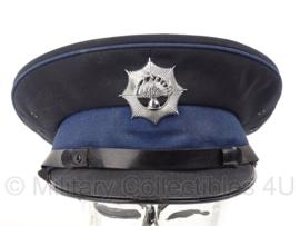 Korps Rijkspolitie platte pet - maat 57 - origineel