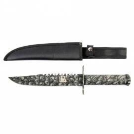 Combat knife (37,5 cm) - met Skulls