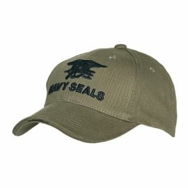 Baseball cap groen - Navy Seals