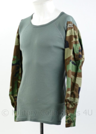 Korps Mariniers Rigger Made UBAC van Foliage shirt en Woodland uniform - maat M - origineel