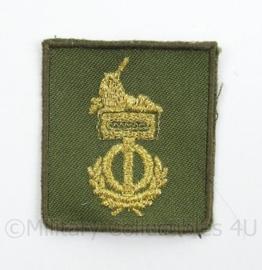 KL Landmacht vaardigheids borst embleem Groepswaardering/Individuele Bekwaamheid - met klittenband - afmeting 4,5 x 5 cm - origineel