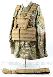 Defensie Profile Equipment Coyote plate carrier inclusief Molle belt  - origineel