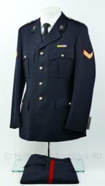 Korps Mariniers Barathea uniform met medaille balk -  Maat 46 - ongedragen- origineel