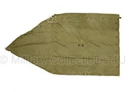 US khaki tentzeil 1942 - topstaat origineel WO2