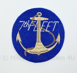 US Navy 7th Fleet Korea Oorlog embleem - diameter 10 cm