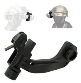 Night vision NVG J arm bracket voor nachtkijker voor MICH FAST helm ZWART (zonder helm)