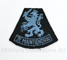 MVO KLU Luchtmacht mouwleeuw Je Maintiendrai - 6,5 x 8 cm - origineel