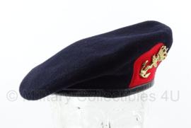 Korps Mariniers baret met gouden insigne - maat 59 - 1994 maker Hassing BV - origineel