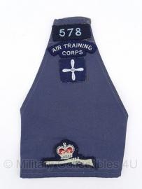 "Britse ""Air Training Corps"" RAF Royal Air Force armband / schouderband - origineel"