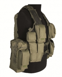 Tactical vest 12 pockets - groen