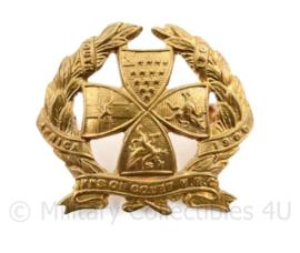 Britse pet insigne Inns of Court Regiment - 3,5 x 3,5 cm - origineel