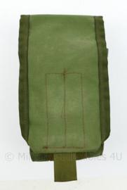 Defensie en US Army groene single  Magazin pouch  M4 en Diemaco Warrior Assault Systems -  19 x 10,5 x 6 cm - origineel