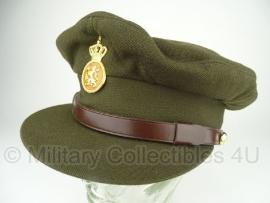 KL Nederlandse leger platte pet manschappen - oud model - maat 56 - origineel